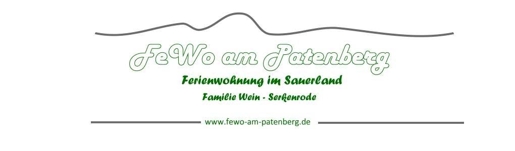 Fewo am Patenberg Logo
